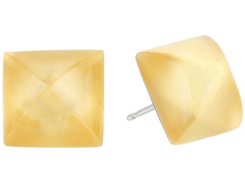 Alexis Bittar Pyramid Post Earrings