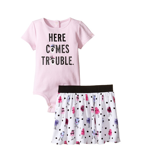 Kate Spade New York Kids Here Comes Trouble Set (Infant)