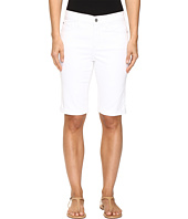 NYDJ - Briella Roll Cuff Shorts in Optic White