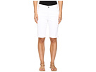 Briella Roll Cuff Shorts in Optic White