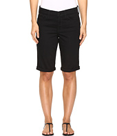 NYDJ - Briella Roll Cuff Shorts in Black