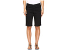 Briella Roll Cuff Shorts in Black
