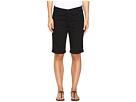 Briella Roll Cuff Shorts in Black