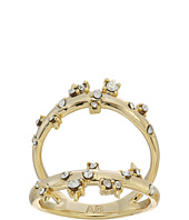 Alexis Bittar - Double Band Satellite Crystal Ring