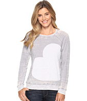 Allen Allen - Side Heart Print Sweatshirt