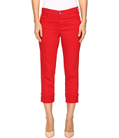 NYDJ - Dayla Wide Cuff Capris in Sweet Strawberry