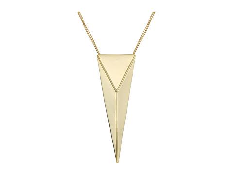 Alexis Bittar Pyramid Pendant Necklace - 10K Gold