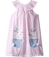 Mud Pie - Bunny Pocket Dress (Toddler)