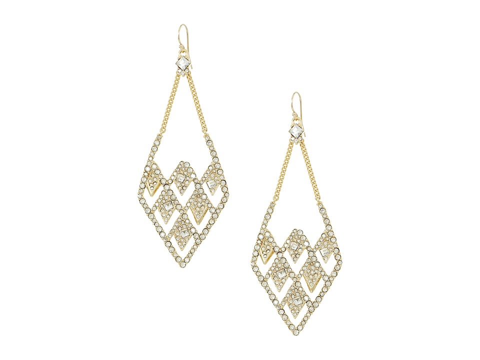 Alexis Bittar - Crystal Encrusted Spiked Lattice Wire Earrings