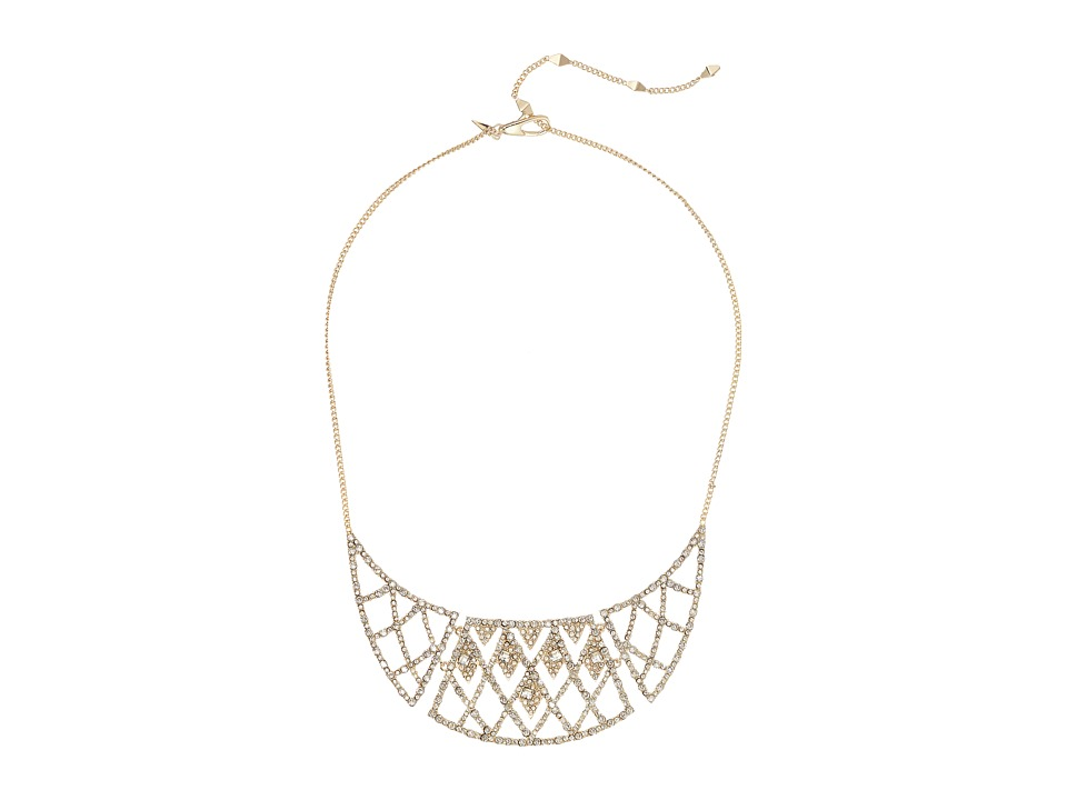 Alexis Bittar Alexis Bittar - Crystal Encrusted Liquid Silk Strand Necklace