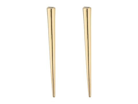 Steve Madden Vertical Spike Earrings - Gold