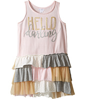 Mud Pie - Dream Big Darling Ruffle Dress (Infant/Toddler)