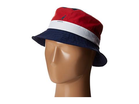 Kangol Bold Stripe Bucket - Navy