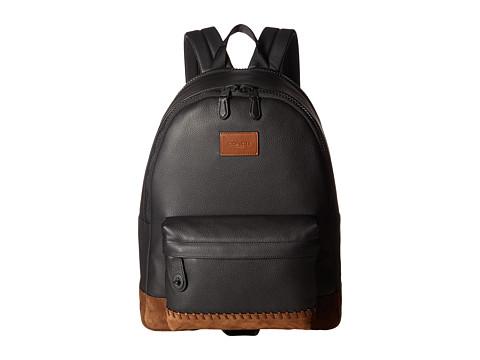 COACH Campus Backpack - Black/Black Mahogany