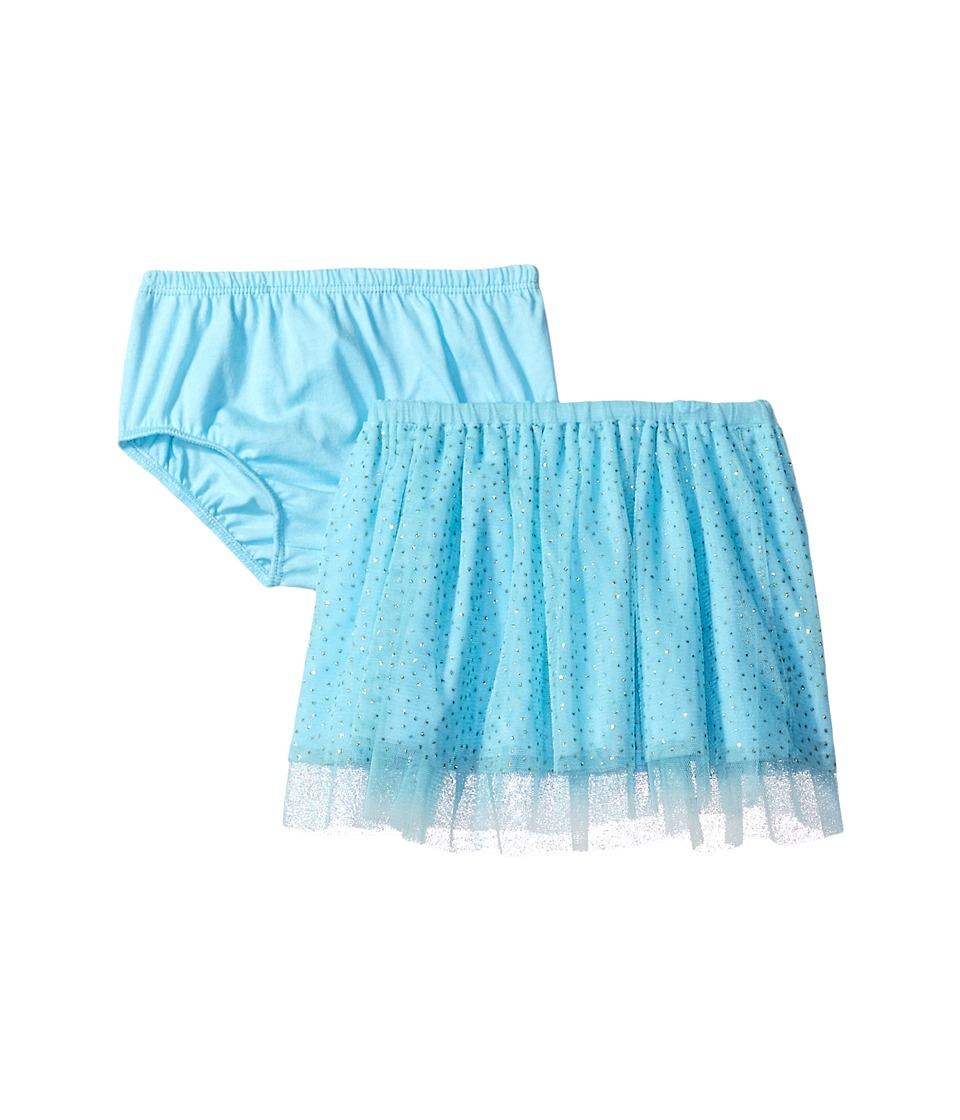 Mud Pie - Turquoise Mesh Skirt and Bloomers