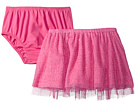 Mud Pie - Pink Mesh Skirt and Bloomers (Infant/Toddler)