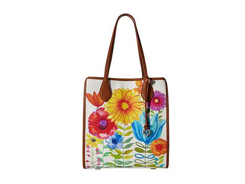 Brighton Violet Shopper - Luggage/Multi