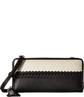 Brighton - Ferrara Color Block Zip Wallet