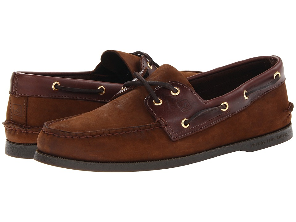 Sperry Top-Sider Authentic Original (Brown/Buc Brown) Men...