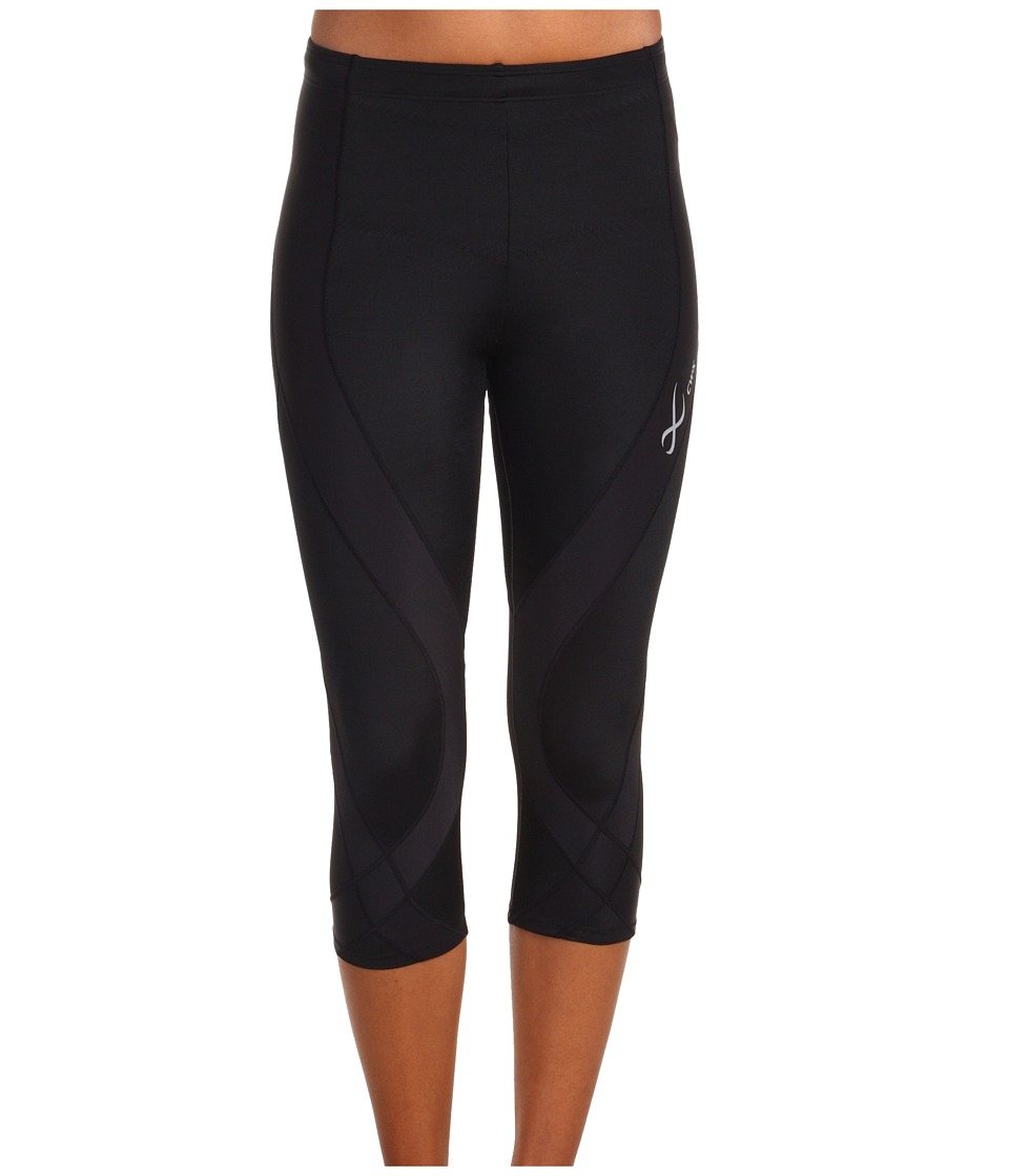 CW-X - Endurance Pro 3/4 Tight (Black) Womens Workout