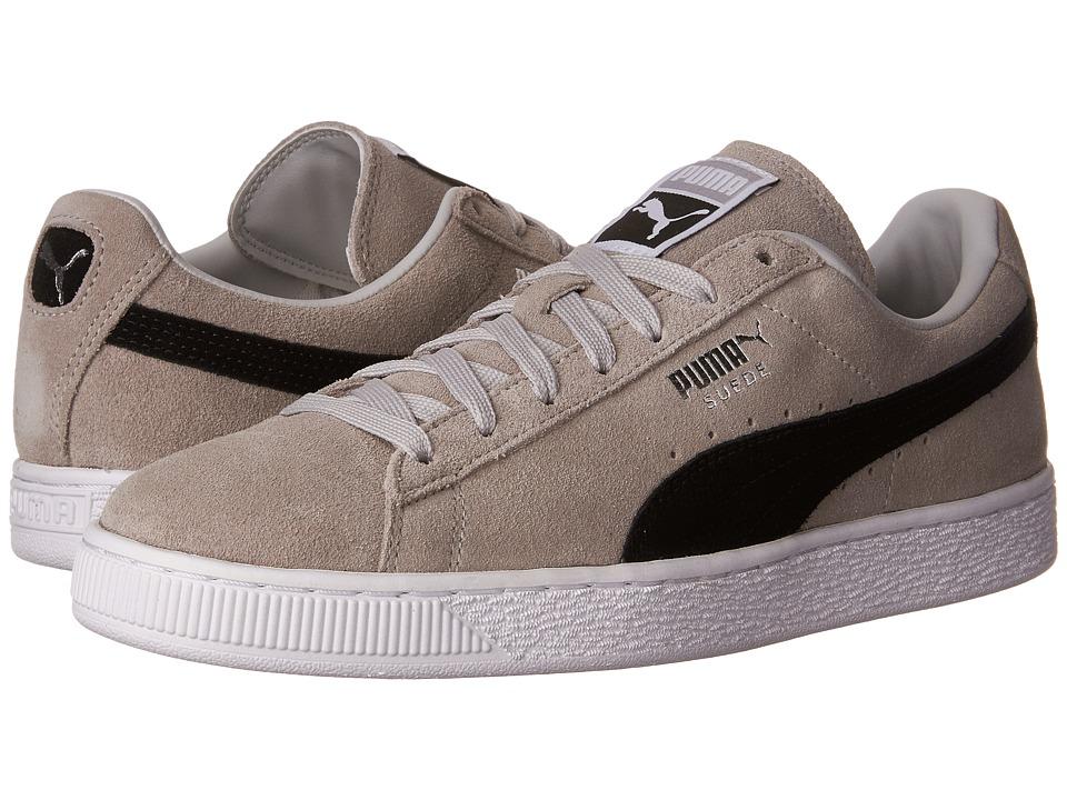 PUMA - Suede Classic + (Gray Violet/Puma Black) Mens Shoes