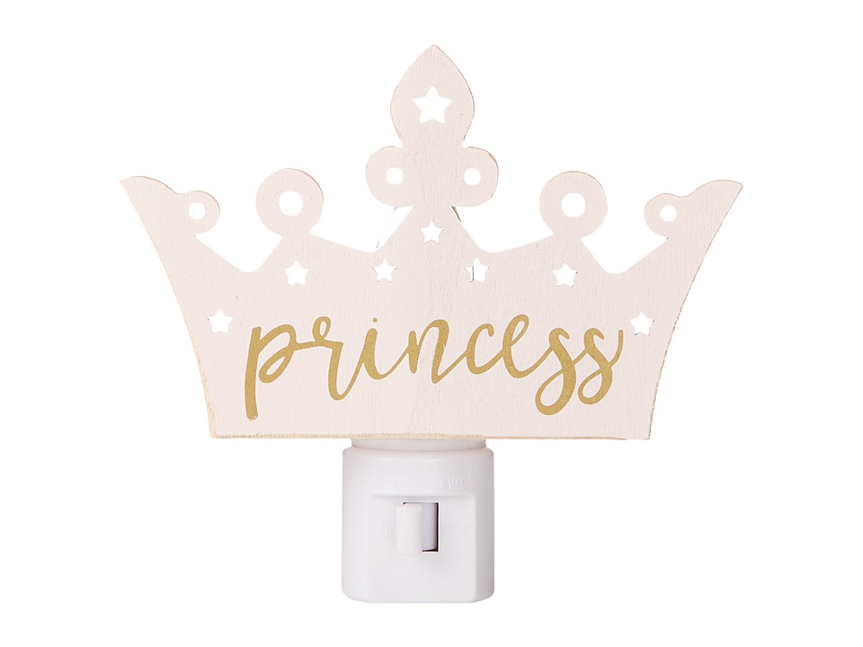 Mud Pie - Princess Crown Night Light