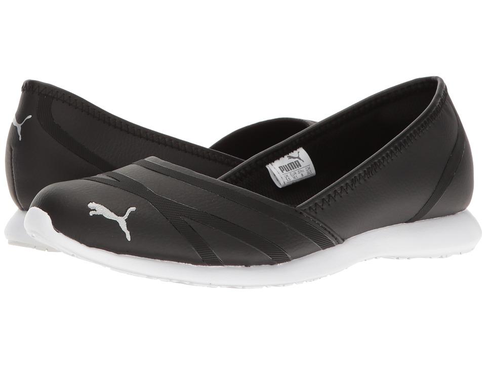 PUMA - Puma Vega Ballet SL (Puma Black/Puma Black) Womens Shoes