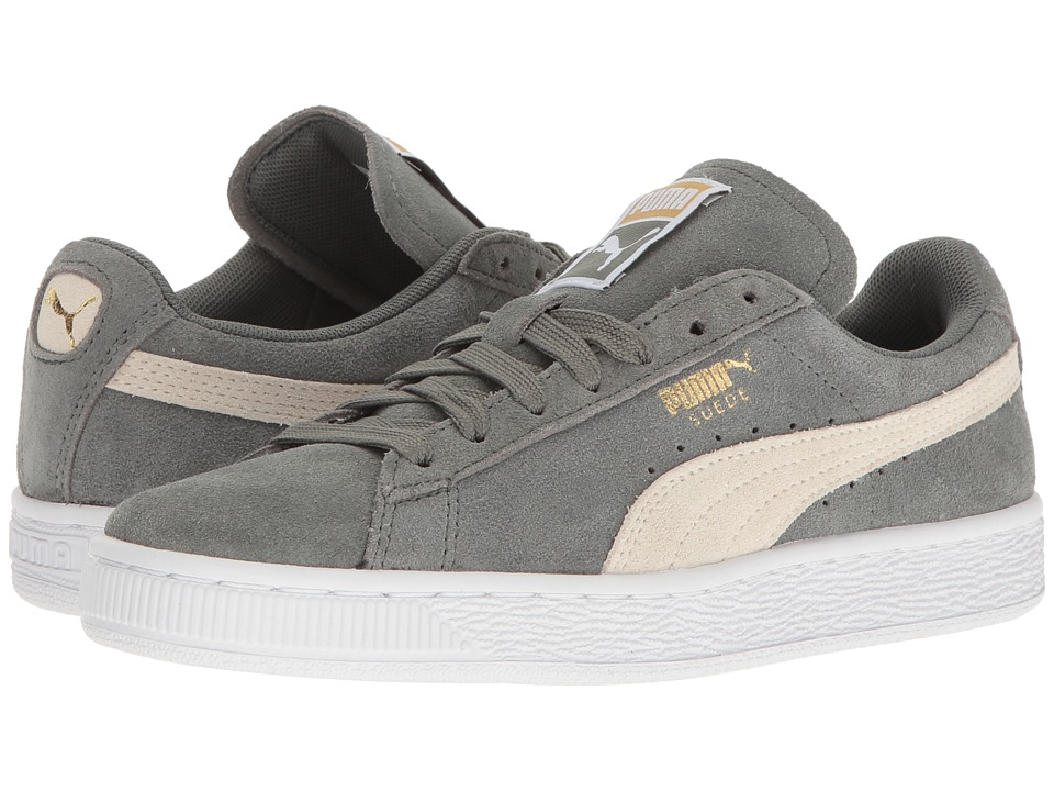 PUMA - Suede Classic (Agave Green/Whisper White) Womens Shoes