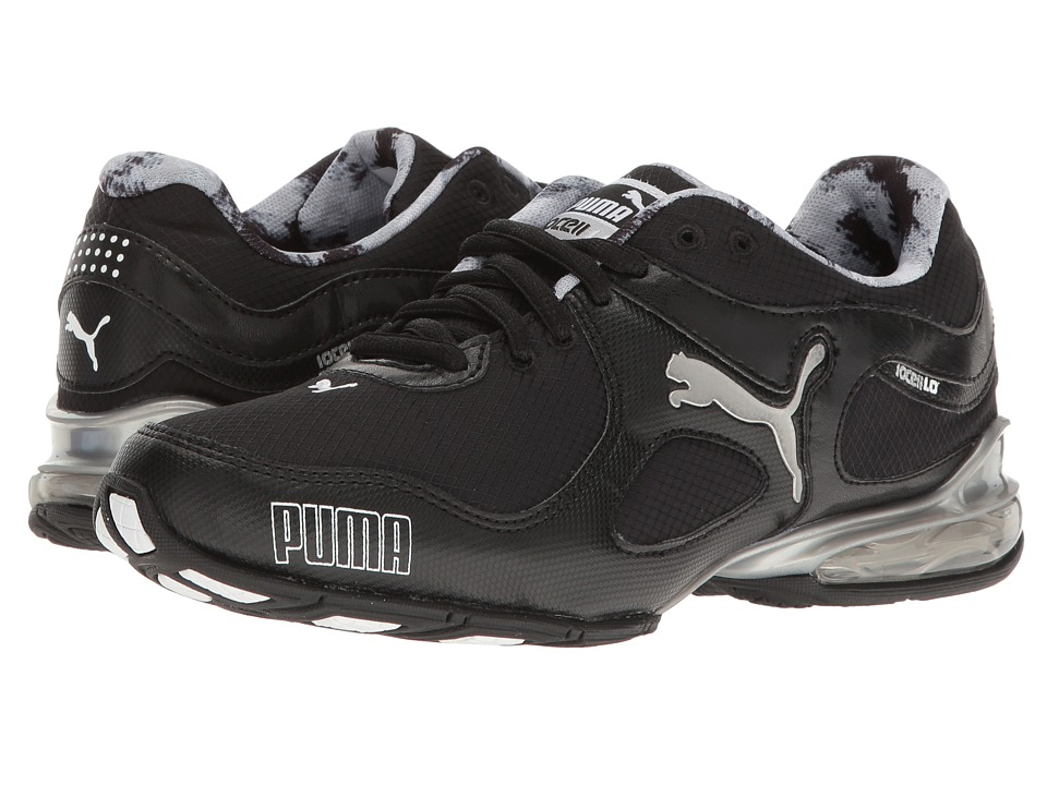 PUMA Cell Riaze Paintbrush (Puma Black/Silver/Puma White) Women