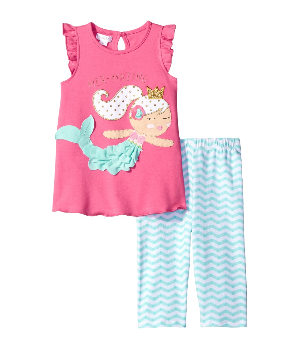 Mud Pie - Mermaid Tunic Capris Set
