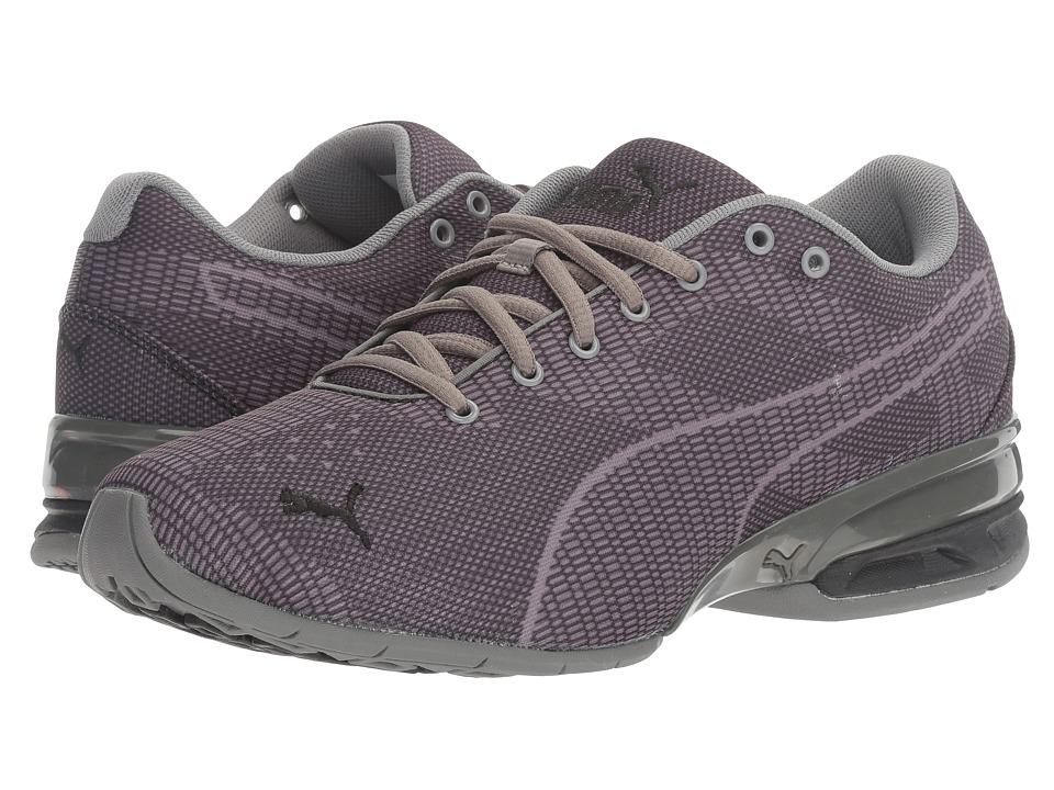 PUMA - Tazon 6 Wov (Quiet Shade/Puma Black) Mens Shoes