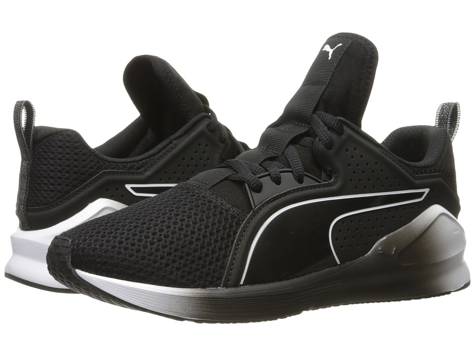 PUMA - Fierce Lace (Puma Black/Puma White) Womens Shoes