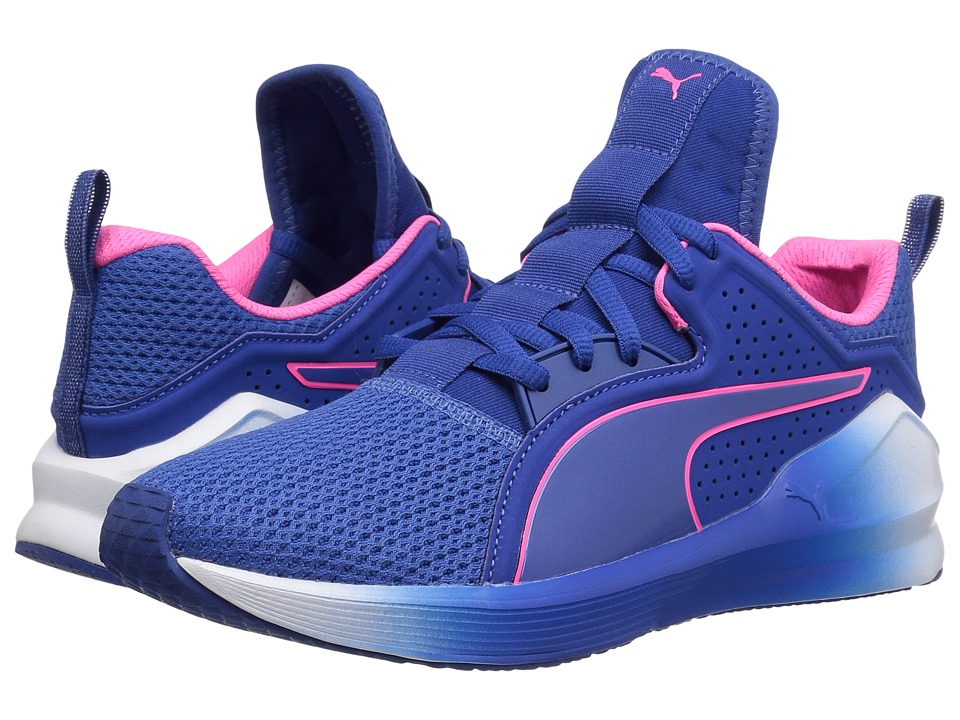 PUMA Fierce Lace (True Blue/Knockout Pink) Women