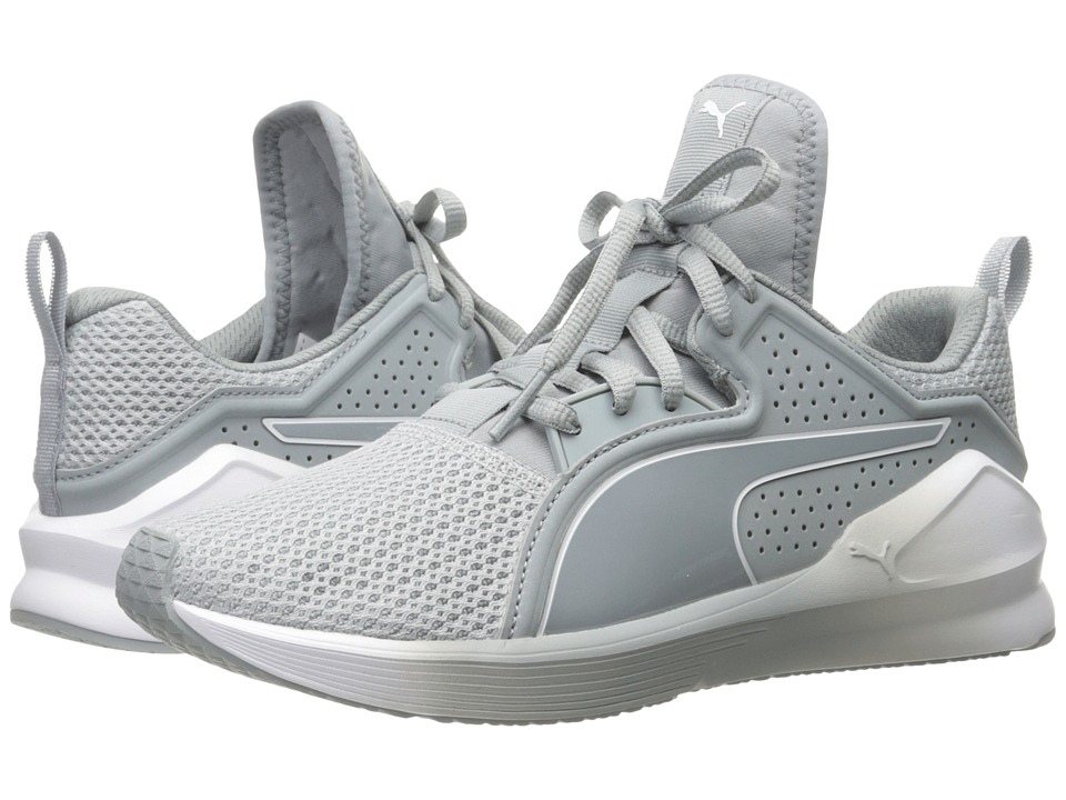 PUMA Fierce Lace (Quarry/Puma White) Women