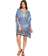 Tommy Bahama - Shibori Splash Lace-Up Tunic Cover-Up