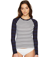 Tommy Bahama - Channel Surfing Long-Sleeve Half-Zip Rash Guard