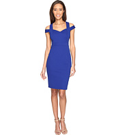 Adrianna Papell - Shoulder C Detail Fitted Dress