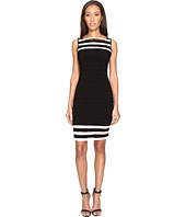 Adrianna Papell - Matte Jersey Banded Sheath Dress