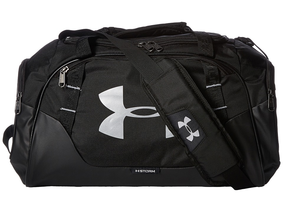 Under Armour - UA Undeniable Duffel 3.0 XS (Black/Black/Silver) Duffel Bags