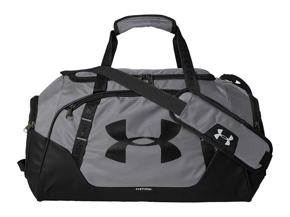 Under Armour - UA Undeniable Duffel 3.0 SM (Graphite/Black/Silver) Duffel Bags