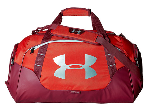 Under Armour UA Undeniable Duffel 3.0 MD - Red/Black Currant/Steel