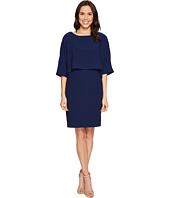 Adrianna Papell - Draped Blouson Sheath Dress