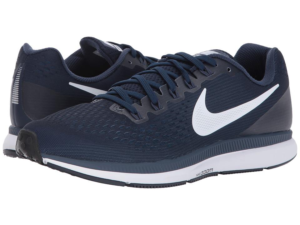 Nike Air Zoom Pegasus 34 (Obsidian/White/Neutral Indigo) Men