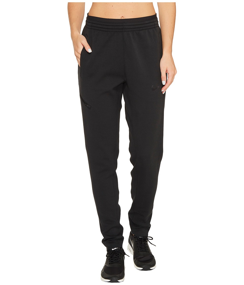 Nike Dry Showtime Basketball Pant (Black/Black) Women's C...