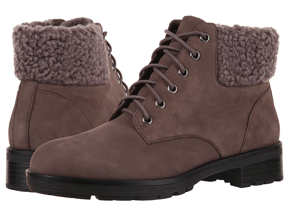 Vionic Lolland (Grey) Women's Lace-up Boots