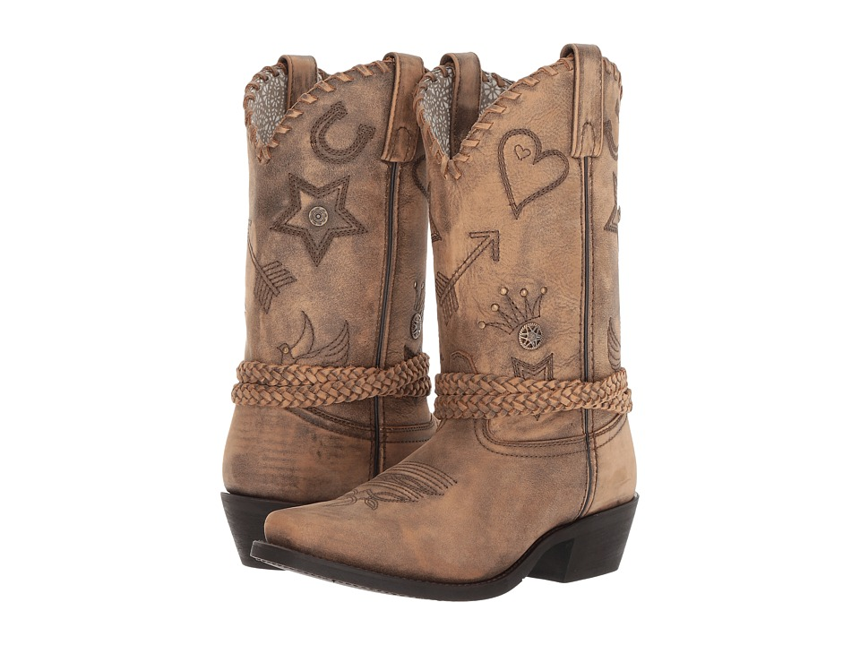 Laredo Buttercup (Distressed Light Tan) Cowboy Boots