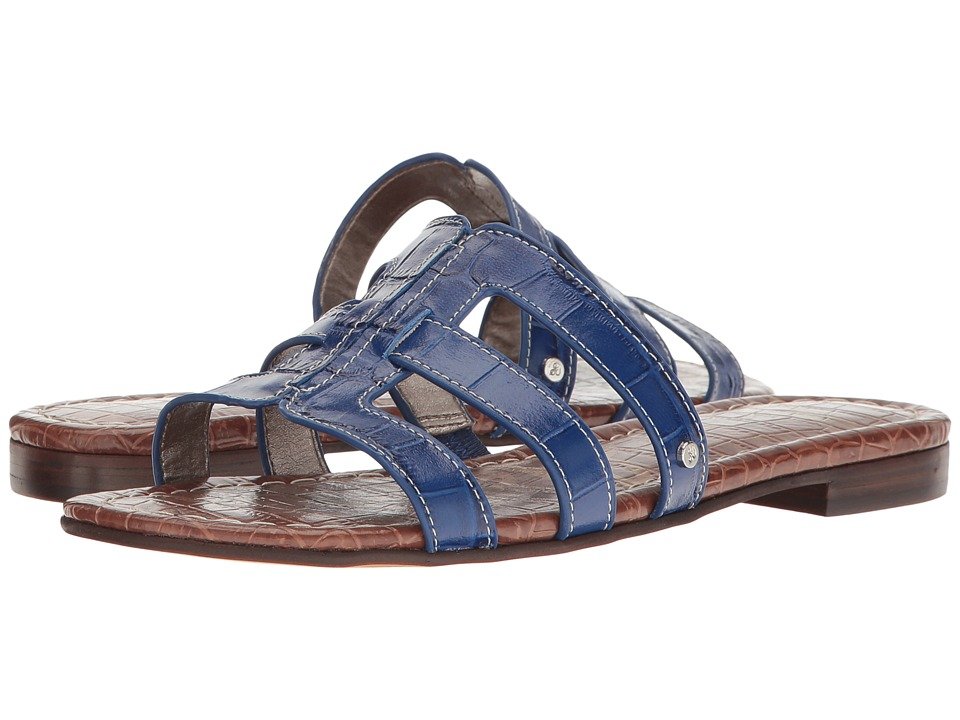 Sam Edelman Berit (Nautical Blue Suraze Shiny Croco Leather) Women