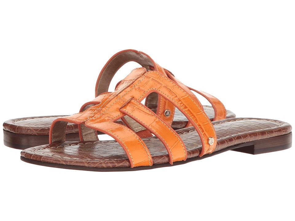 Sam Edelman Berit (Classic Orange Suraze Shiny Croco Leather) Women