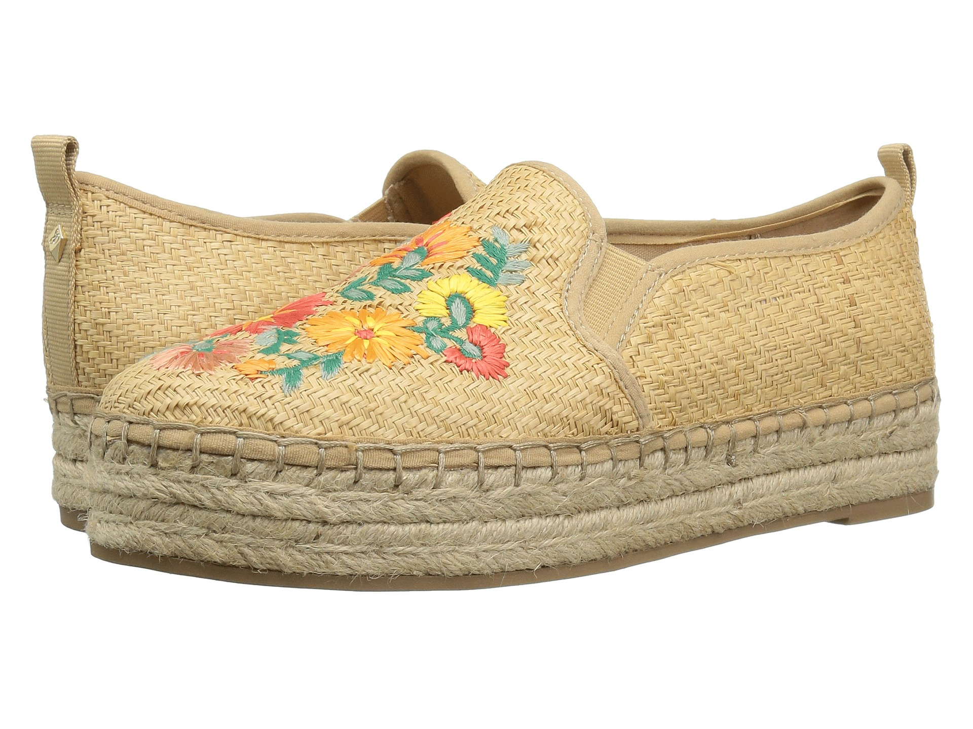 Basket Weaving With Raffia : Sam edelman carrin natural basket weave raffia bright