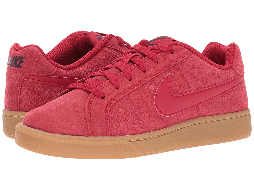 Nike Court Royale Suede (Gym Red/Gym Red/Port Wine) Men